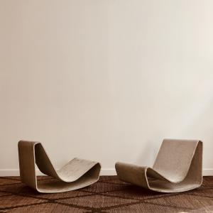 WILLY GUHL LOOP CHAIRS DESPREZ BREHERET