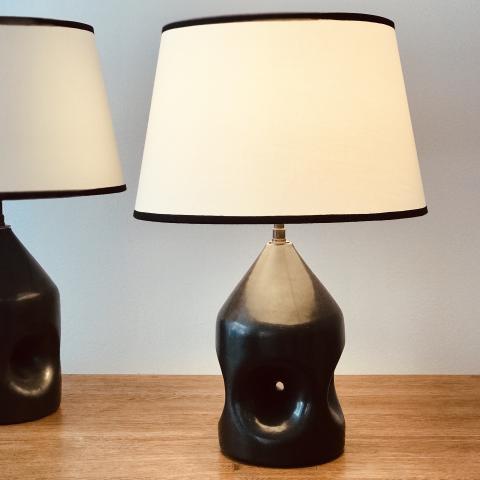 ROGER CAPRON CERAMIC LAMPS